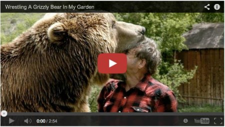 Grizzly Bear as a pet